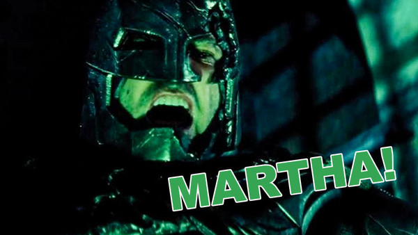 BATMAN V Superman Martha