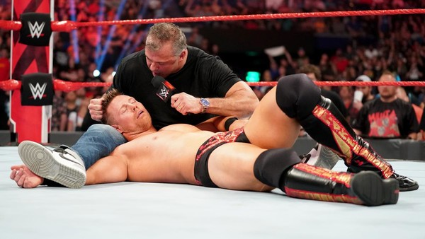 Shane McMahon Miz Raw
