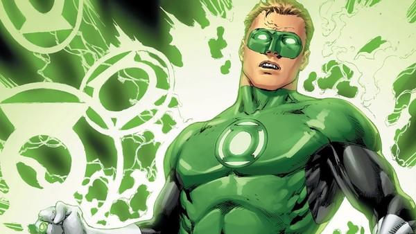Green Lantern Shocked