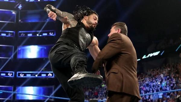 Roman Reigns Vince McMahon