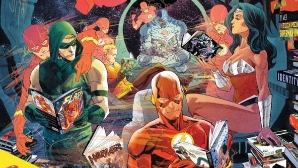 DC Characters Reading