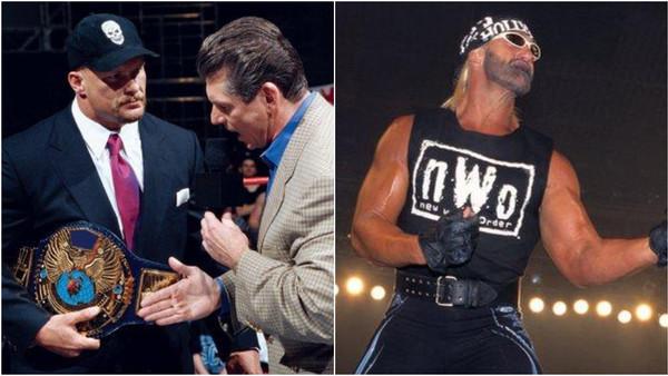Steve Austin Vince McMahon Hulk Hogan