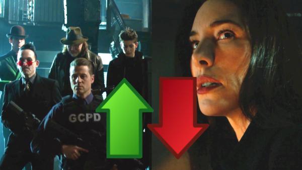 Gotham Season 5 Ep 11 Ups Downs