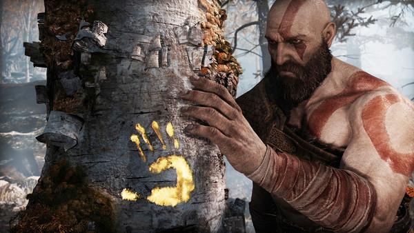 God of War Kratos Tree