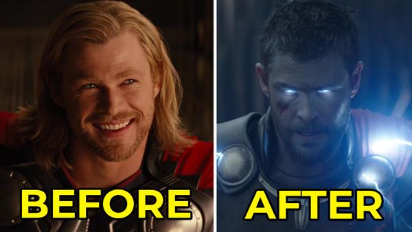 Thor Avengers Infinity War Chris Hemsworth