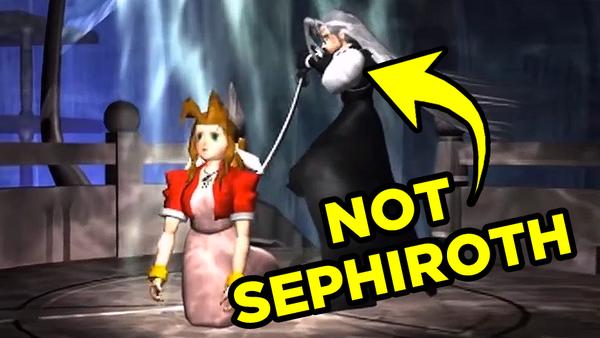 Final Fantasy 7 Sephiroth Aerith