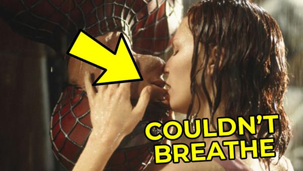 Spider Man 2002 Kiss Kirsten Dunst Tobey Maguire