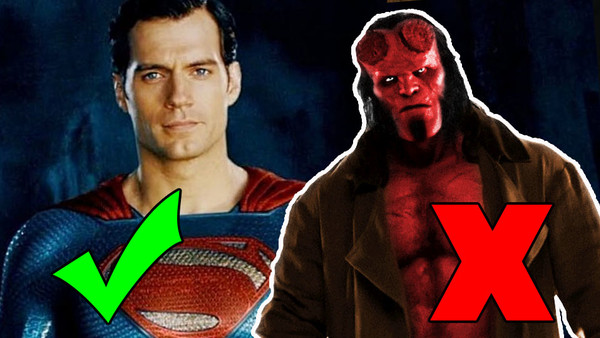 Comic Book Movie Reboots