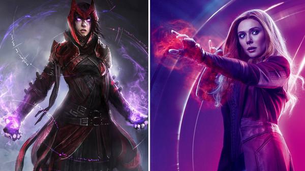 Scarlet Witch Avengers Infinity War Elizabeth Olsen