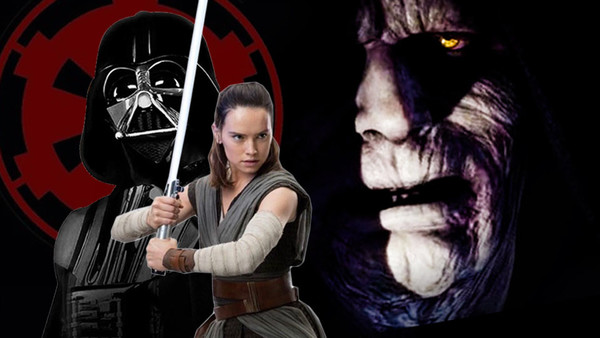 Star Wars 9 Theory Emperor Palpatine Created Rey As An Anakin Clone