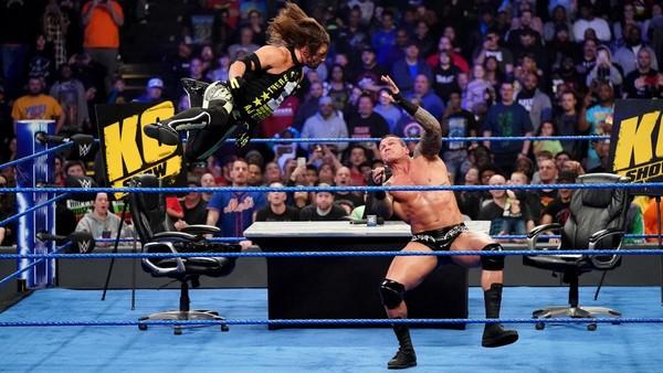 AJ Styles Randy Orton