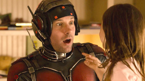 Ant-man Bloopers