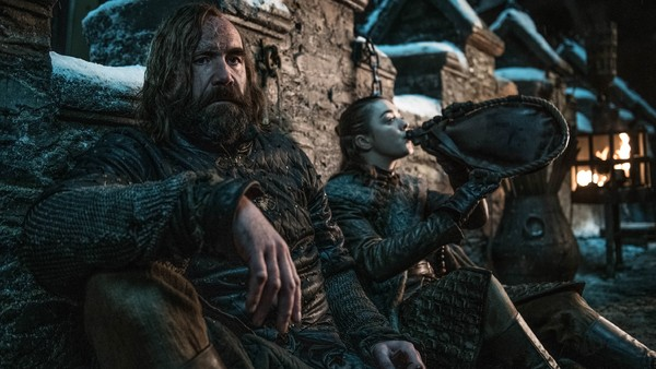 Game of Thrones The Hound Arya