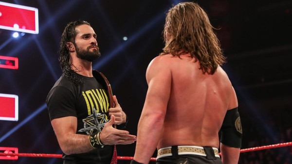 Seth Rollins AJ Styles