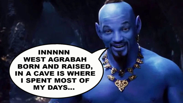 Aladdin Disney Genie