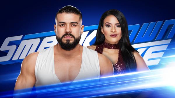 Andrade Zelina Vega SmackDown