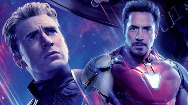 Avengers Endgame Captain America Iron Man