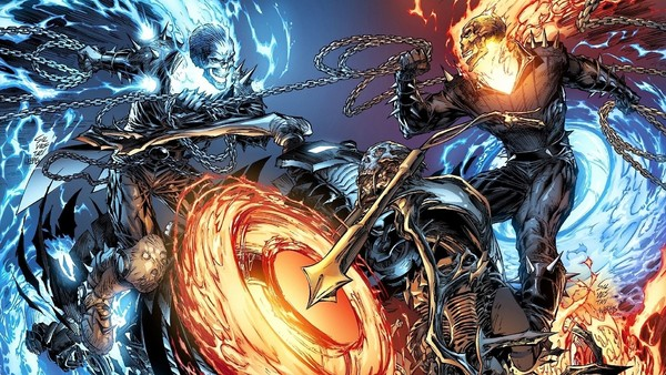 Ghost Rider Danny Ketch Blue Flame