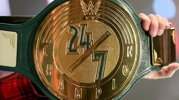 Mick Foley, 24/7 Title, Monday Night Raw
