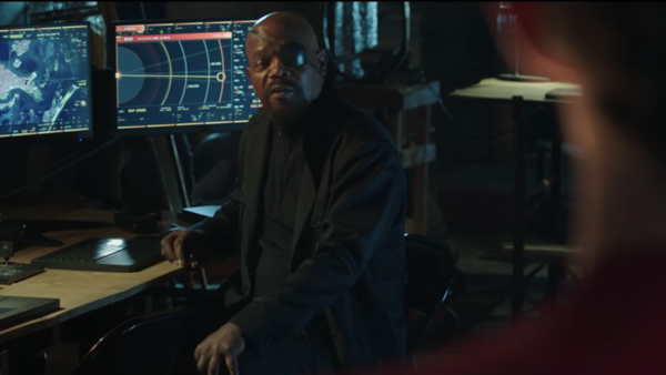 Nick Fury Far From Home