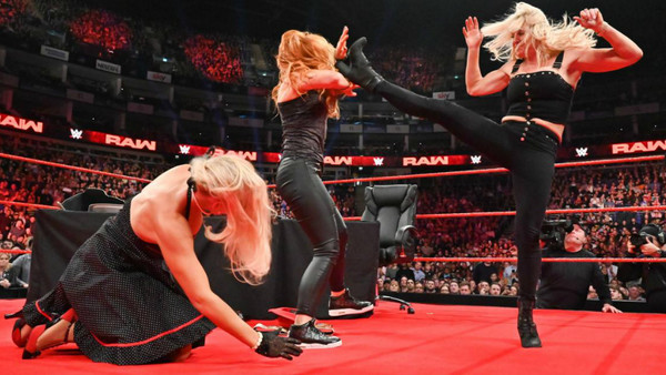 Lacey Evans Becky Lynch Charlotte Flair