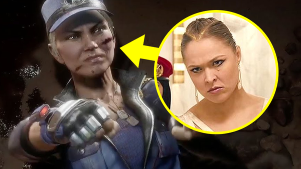 Mortal Kombat 11 Sonya Blade Ronda Rousey