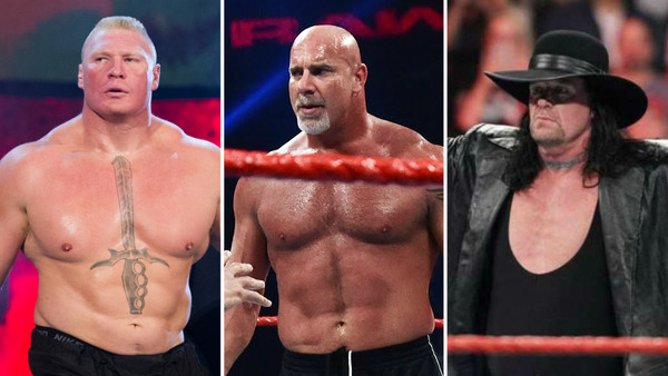 Brock Lesnar Goldberg The Undertaker