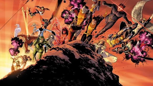 Giant Size Astonishing X Men Poster