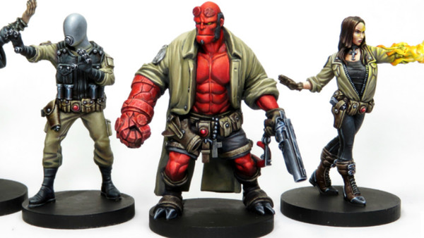 Hellboy Board Game Characters