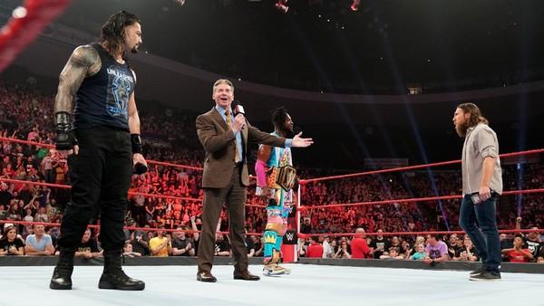 Roman Reigns Vince McMahon Daniel Bryan