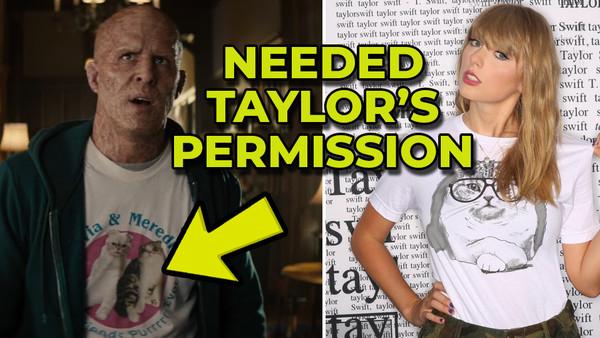 Deadpool 2 Taylor Swift