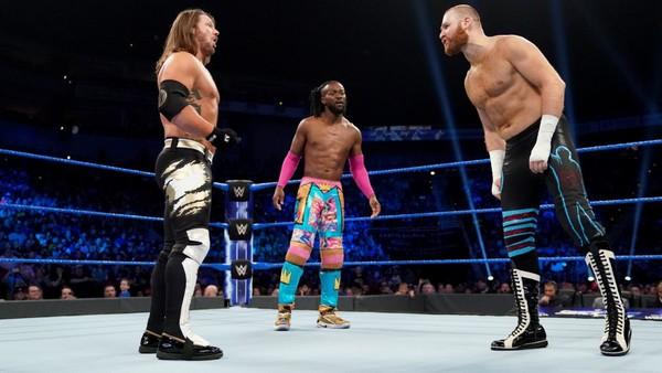 AJ Styles Kofi Kingston Sami Zayn