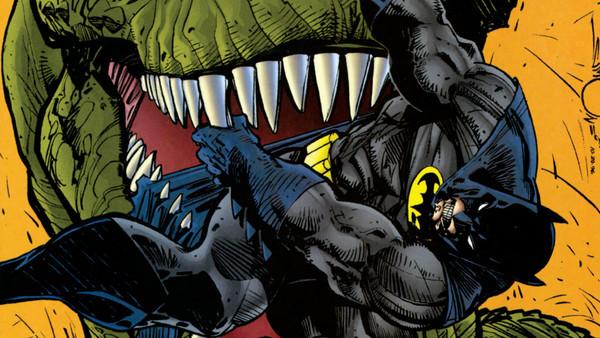Batman T Rex