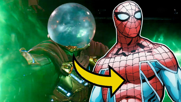 Spider-Man: Far From Home Mysterio Dimension