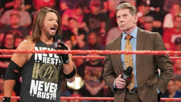 Vince McMahon AJ Styles