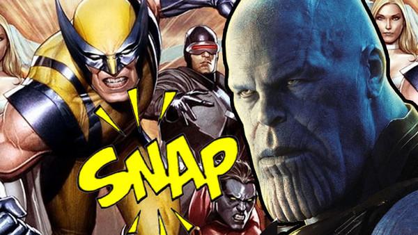 Thanos X Men
