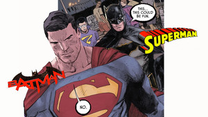 5 Silly Times Superman And Batman Swapped Identities