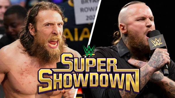 What time is wwe super showdown