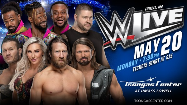 SmackDown Live Lowell
