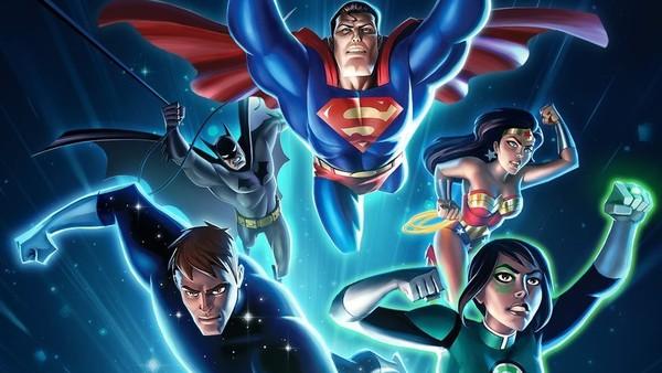Justice League Animated Original Team
