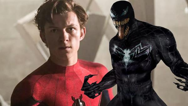 Tom Holland Spider Man Venom