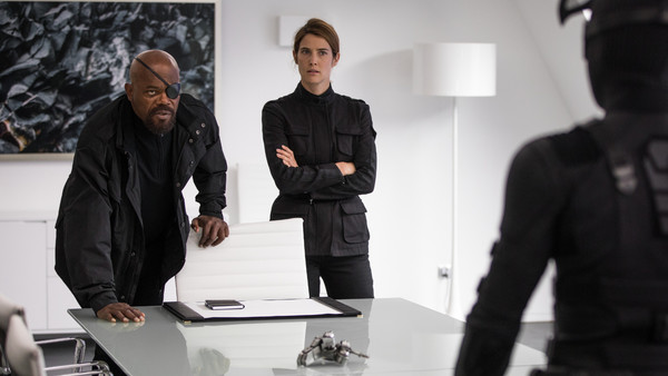 Spider-Man: Far From Home Nick Fury Maria Hill