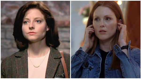 Movie Sequels replacing Judie Foster with Julianne Moore