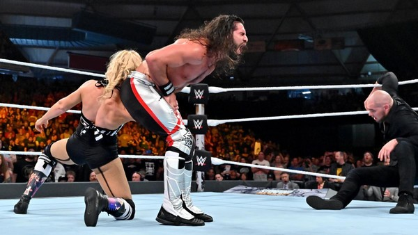 Stomping Grounds Lacey Evans Seth Rollins