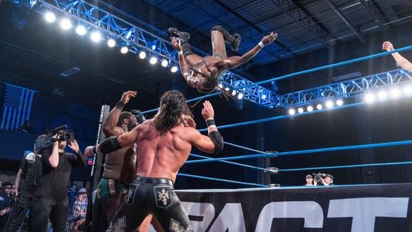 Impact Wrestling Johnny Impact Willie Mack Rich Swann