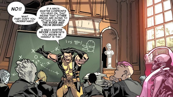 X-Men Wolverine Teaching