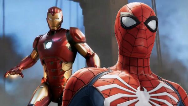 Avengers Iron Man Spider-Man