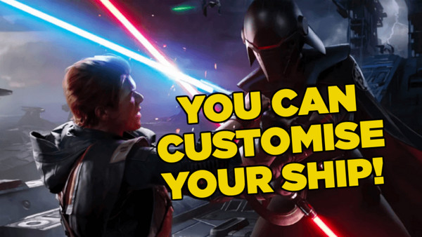 Jedi Fallen Order Ship Customisation
