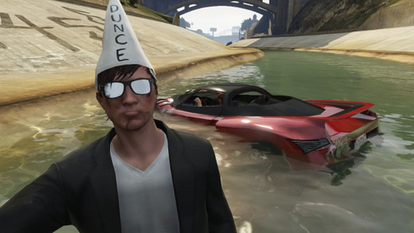 Grand Theft Auto Online Dunce