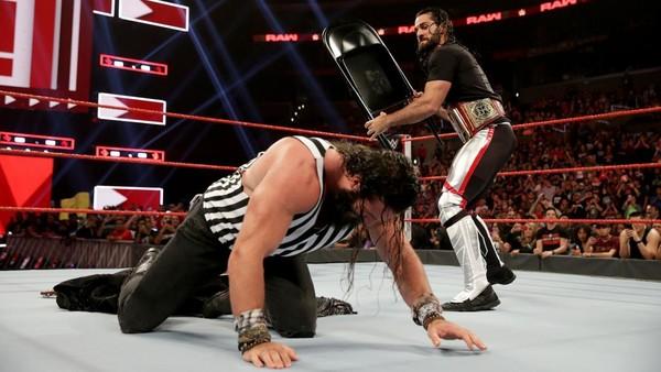 Seth Rollins Elias Chair Raw
